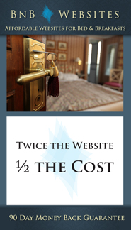 BnB Websites - Twice the website 1/2 the cost